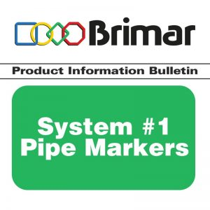 System #1 Pipe Markers