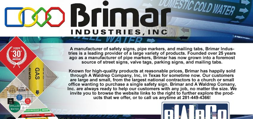 A Waldrep Company Inc  & Brimar Industries - Marking your